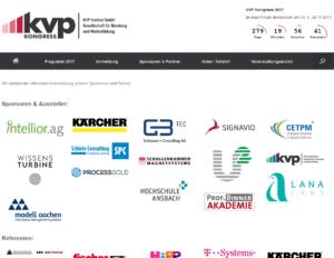 KVP Kongress 2016 Sponsoren